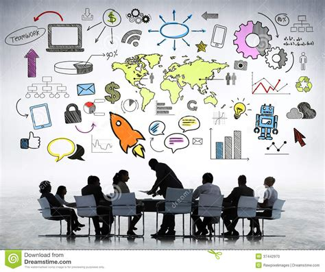 Two Family House Plans business team planning new strategic stock photo image