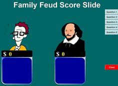 Make Your Own Family Feud Game With These Free Templates Images Family Feud Game Family Make Your Own Family Feud Powerpoint