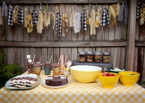 Backyard Bonfire: Trail Mix Party Favors   A Beautiful Mess