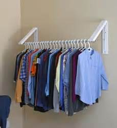 Wall Mounted Clothes Organizer Quikcloset Wall Mounted Clothes Storage System Ah3x12m