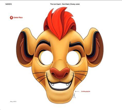 printable mask lion the lion guard kion printable mask from disney junior