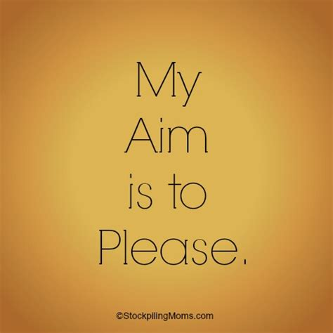 is my my aim is to