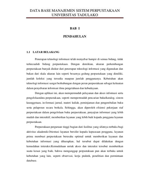 Format Makalah Universitas | makalah sistem informasi akuntansi sistem manajemen