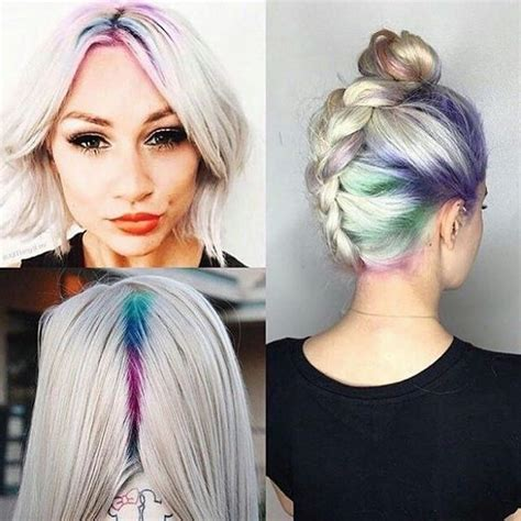 J011051931 Jepit Rambut Korea Hijau tren rambut rainbow berani coba citra indonesia