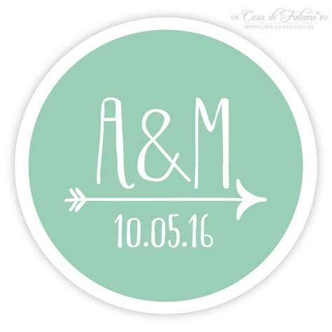 Personalisierte Aufkleber by Personalisierte Aufkleber Hochzeit Mit Initialen Datum