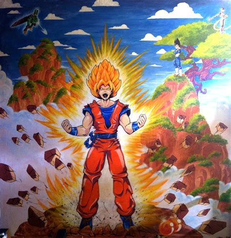 Children Wall Stickers fresque murale dbz thibault colon de franciosi thibault
