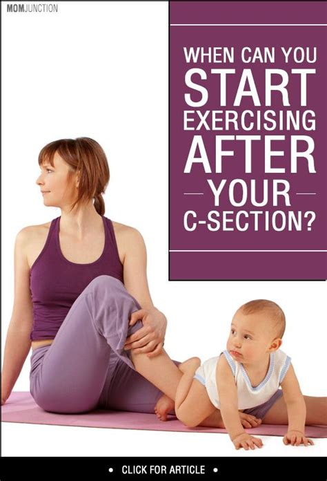 c section and exercise when can you start doing exercises after c section