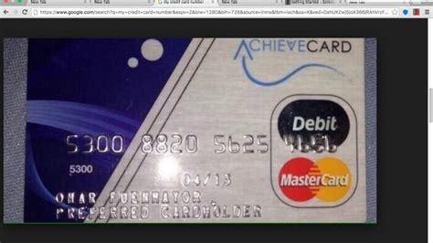 how to make a credit card number that works my credit card number