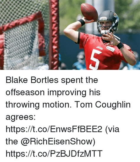 Tom Coughlin Memes - blake bortles spent the offseason improving his throwing