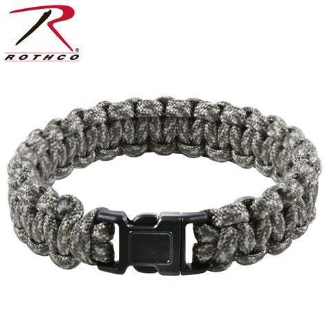 Rothco Multi Colored Paracord Bracelet