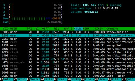 better terminal for windows htop a better process viewer than top delightly linux