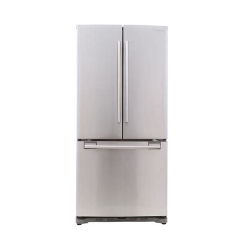Cabinet Depth Refrigerators by Review Samsung Rf18hfenbsr Door Refrigerator