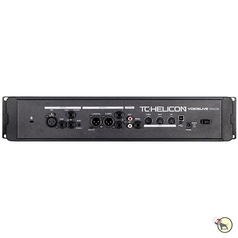 Rack Vocal Processor by Tc Helicon Voicelive Rack Vocal Effects Processor Mic
