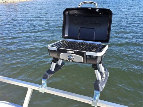 grill on a pontoon boat cuisinart pontoon grill cuisinart grill with arnall s