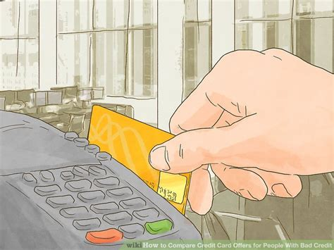bad credit credit card offers how to compare credit card offers for with bad credit