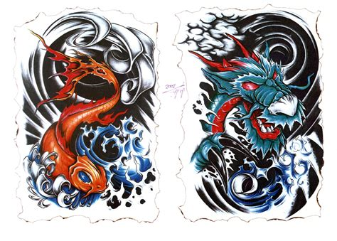 japanese dragon tattoo flash girls wallpaper