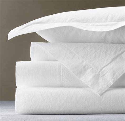 percale sheet set italian vintage washed 464 percale sheet set percale