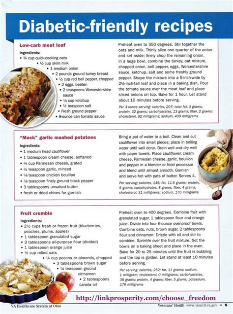 printable easy dinner recipes diabetic friendly diabetes and simple on pinterest