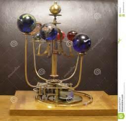Ebay Solar Lights - orrery steampunk art clock with 8 planets amp sun stock photo image 49330549