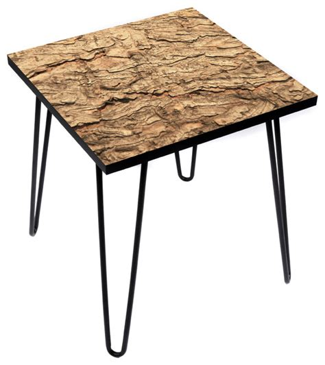 topography coffee table topo bark side table rustic side tables and end tables
