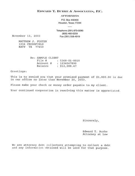 Debt Payment Reminder Letter Reminder Letter Format Letter Format 2017