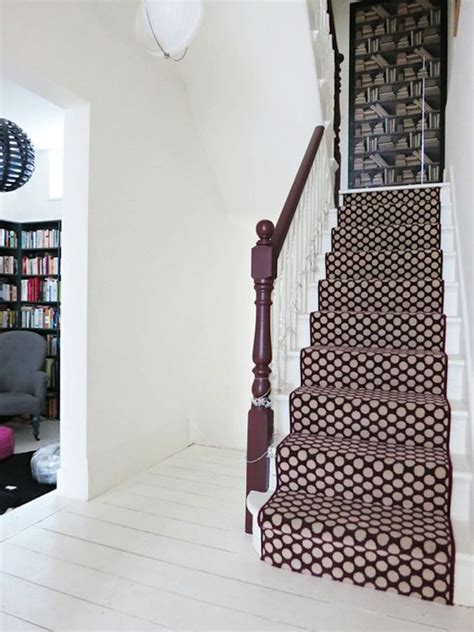 geometric pattern carpet for stairs stair runners carpets foyers and staircase design