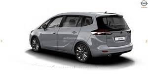 Opel Website 2017 Opel Zafira Facelift Leaked On Gm Website Here Are