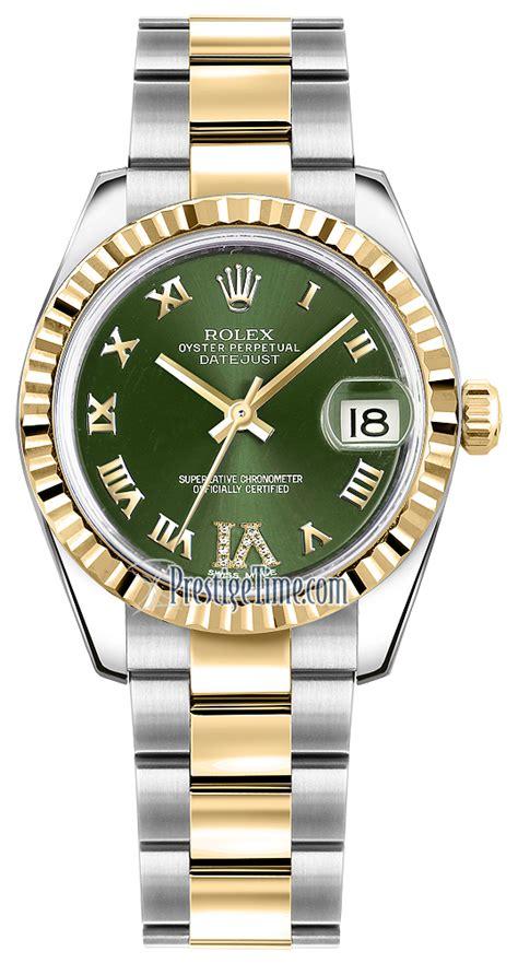 Rolex 9072 Gold List Pink 178273 olive green vi oyster rolex datejust 31mm