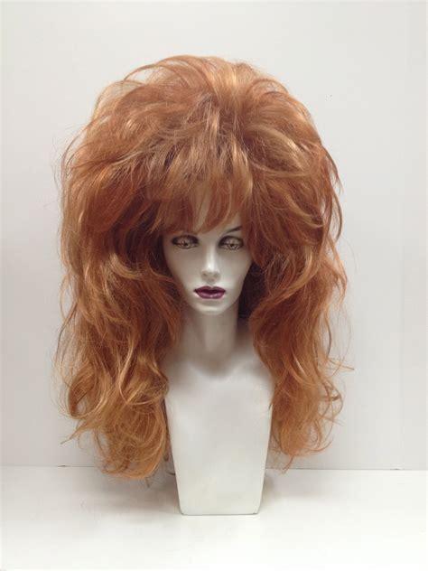 peg bundys hairstyle roaring red wig big hair wigs pinterest red wigs