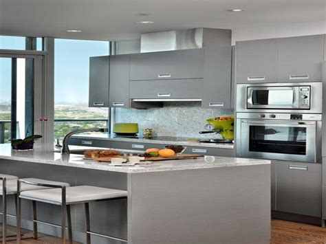 modern condo kitchens grey small kitchen design ideas