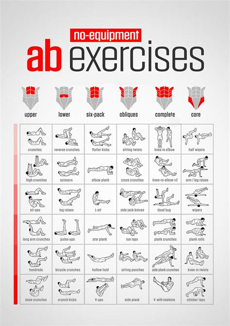 pin  abs exercises