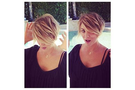 peter pan bob haircut pics kaley cuoco pixie cuts and pixie cut hairstyles on pinterest