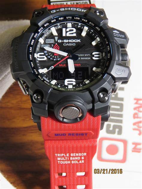 Casio G Shock Gwg 1000rd 4a g shock mudmaster gwg 1000rd 4a rescue series