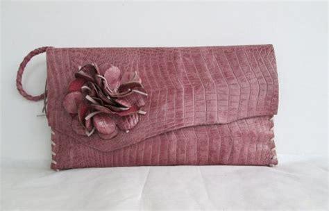 Faux Leather Wristlet Pink Intl pink leather handbag wristlet clutch in faux alligator