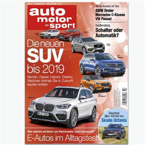 Abo Auto Motor Sport by So Sportmagazine De Auto Motor Und Sport