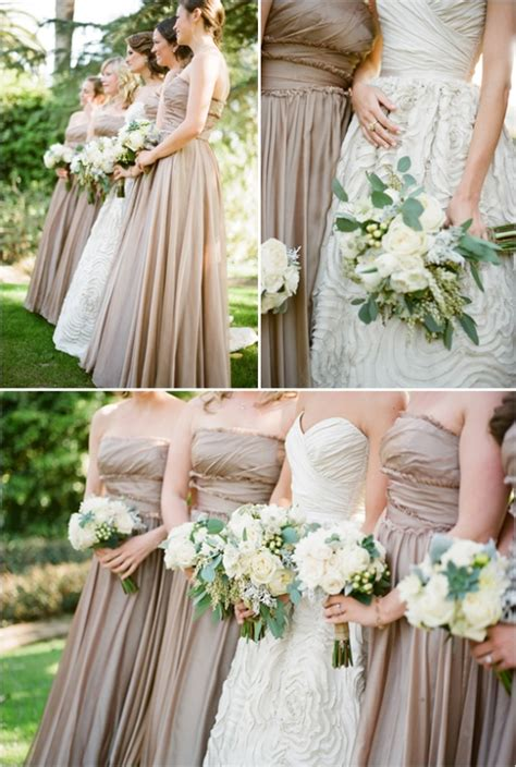 neutral wedding colors picture of delicate and gentle neutral color wedding ideas