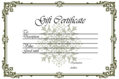 printable gift certificates for stores gift certificate cosmosynergy medi tech org