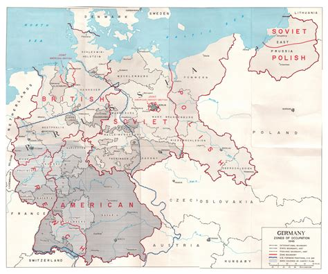 map of germany 1944 allies occupation zones of germany in 1945 os 1206x1024