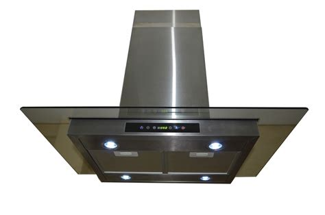 24 quot altair island range hood range hoods and vents gtc europe 36 quot kitchen glass stainless steel island range