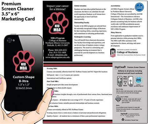 Niu Mba by Education Digiclean Screen Cleaner Stickers