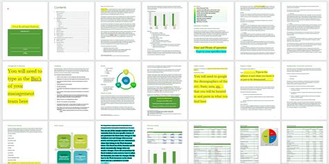 bar business plan template juice bar business plan business plan templates