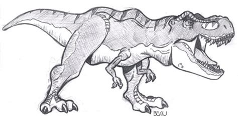 Drawing T Rex by Jp T Rex By Beaubaphat On Deviantart