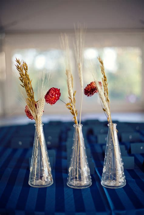 Dried Flowers And Wheat Centerpieces Weddingbee Photo Dried Wheat Centerpieces