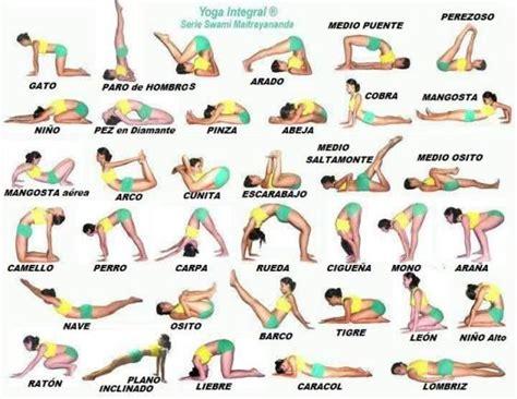 imagenes de yoga integral 17 mejores ideas sobre posturas de yoga en pinterest