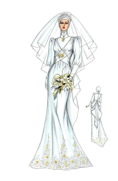 Baju Dress Yuki 1217 best images about sketches brides on