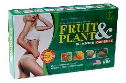 Pelangsing Fruit N Plant jual penurun berat badan fruit plant slimming capsule