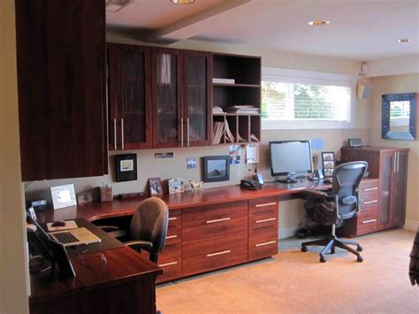 ravishing two person desk home office with white office