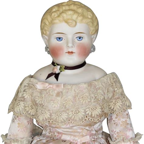 parian doll clear parian doll from honeyandshars on ruby