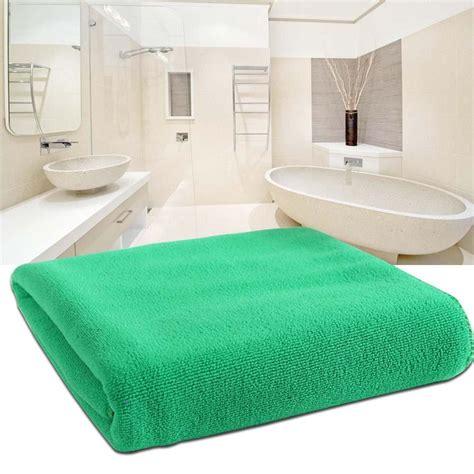 Microfiber Bath Towel Green ultrathin absorbent microfiber washcloth bath green towels swimwear 25 25 cm a391 in bath towels
