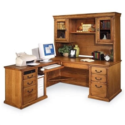 L Shaped Executive Desk With Hutch Error